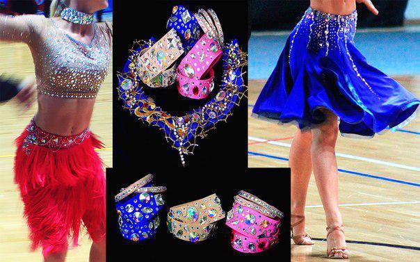 Как украсить костюм для бального танца своими руками